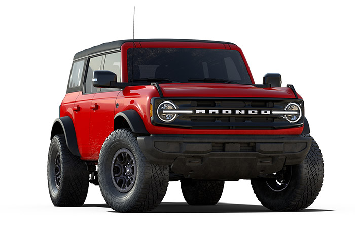 2021 Ford Bronco Wildtrak