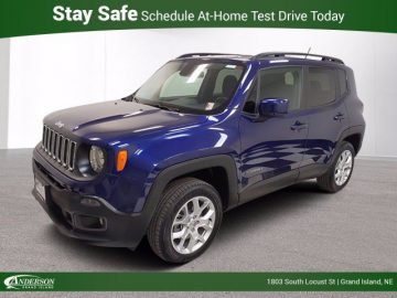 Used 2017 Jeep Renegade Latitude 4×4 Stock: JJ2178A